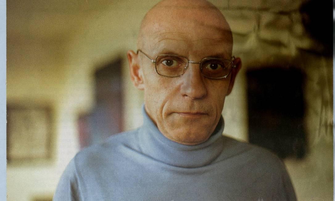 Michel Foucault: filósofo foi acusado de pedofilia em entrevista ao 'The Sunday Times' Foto: Arquivo