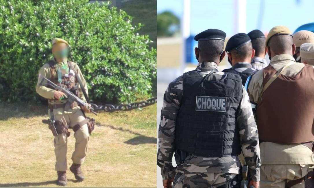 Soldado da PM é 'neutralizado' com dez tiros após 'surtar' e disparar fuzil  no Farol da Barra, em Salvador - Jornal O Globo