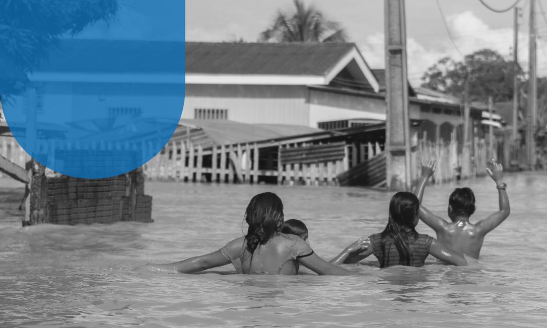 Sena Madureira. Enchente no Acre em fevereiro deixou 30 mil desabrigados Foto: Juan Diaz/iShoot/22-2-2021