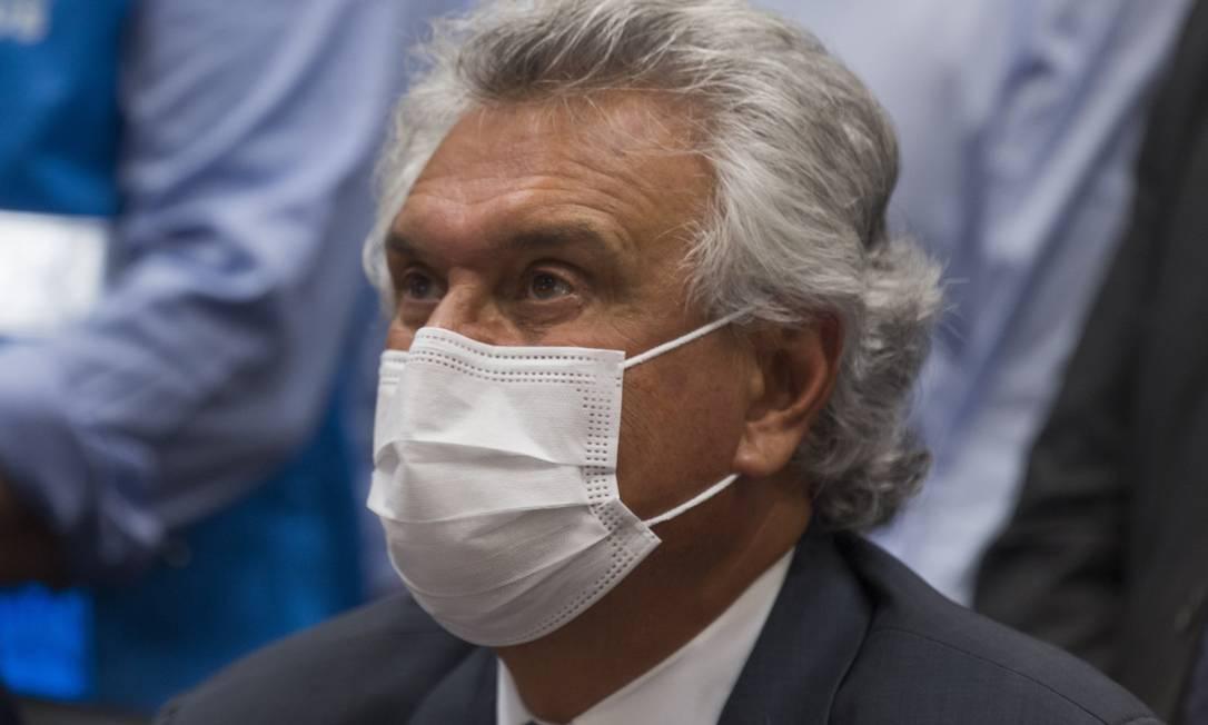 Ronaldo Caiado, governador de Goiás Foto: Edilson Dantas / Agência O Globo