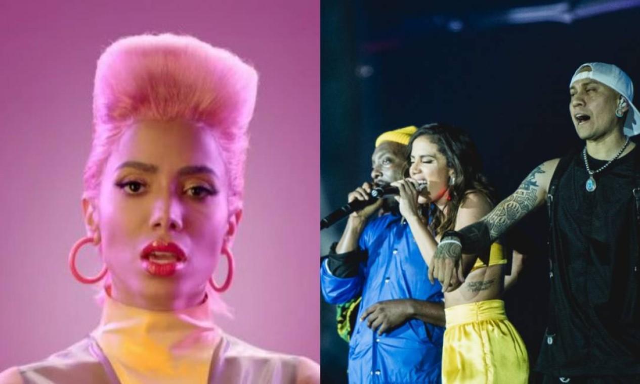 """Black Eyes Peas: a faixa """"Explosion"""" (2019) tem a cantora como participação especial. Foi lançada como um single promocional para o Rock In Rio, onde foi apresentada dias depois. Foto: Reprodução"""