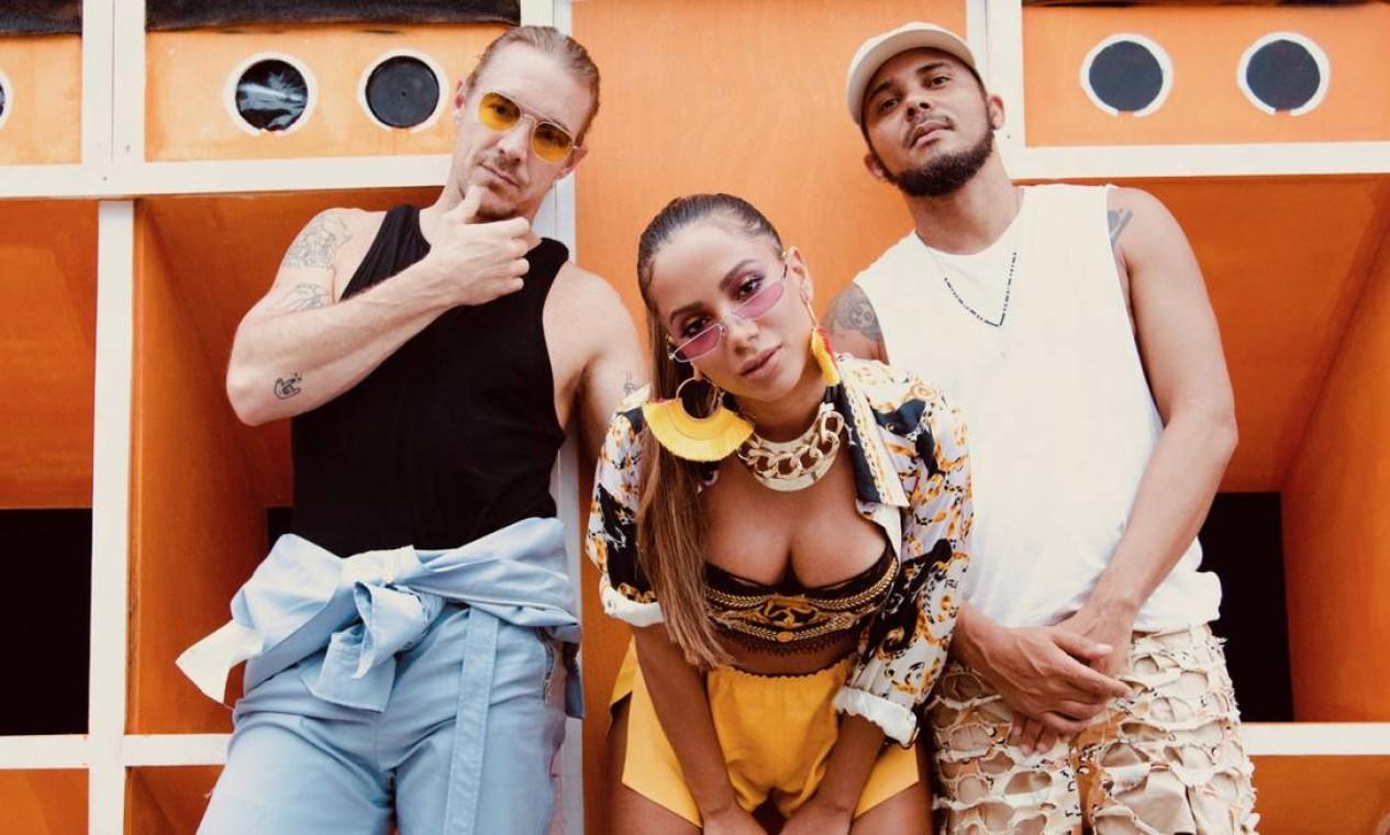 """Major Lazer: Apreciadores de música brasileira, os DJs foram os produtores do hit """"Sua Cara"""" (2017), parceria da funkeira com Pabllo Vittar. Juntos também lançaram """"Make It Hot"""" (2019) e """"Rave de Favela"""" (2020). Foto: Reprodução"""