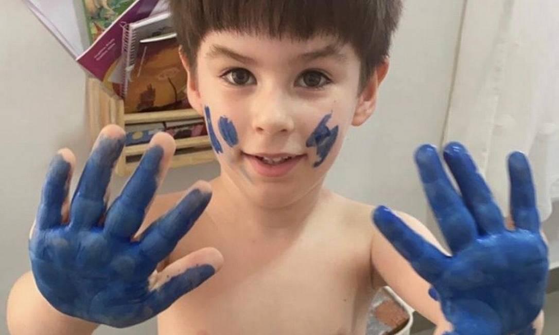O menino Henry Borel de Medereiros tinha 4 anos Foto: Reprodução