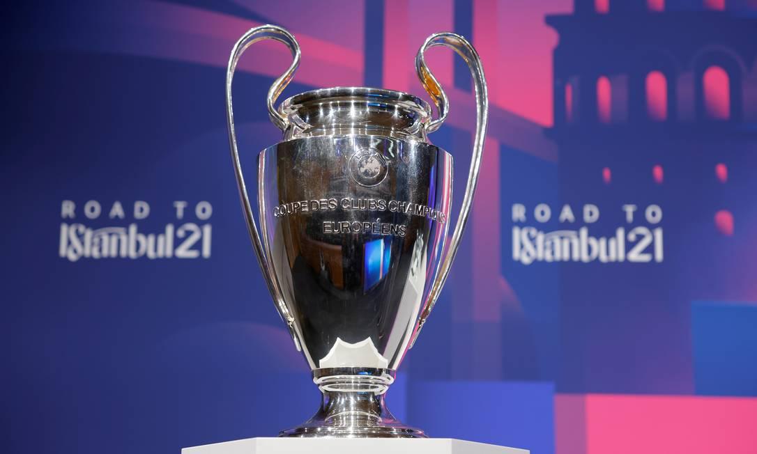 Uefa adia decisão sobre possíveis mudanças na Champions Foto: HANDOUT / Handout via REUTERS