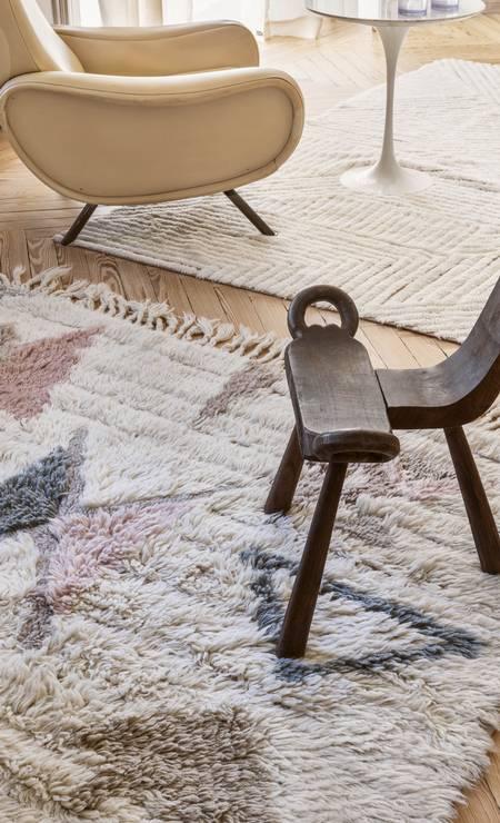 Tapetes de lã é uma das tendências de outono/inverno Foto: @ Manolo Yllera / Manolo Yllera