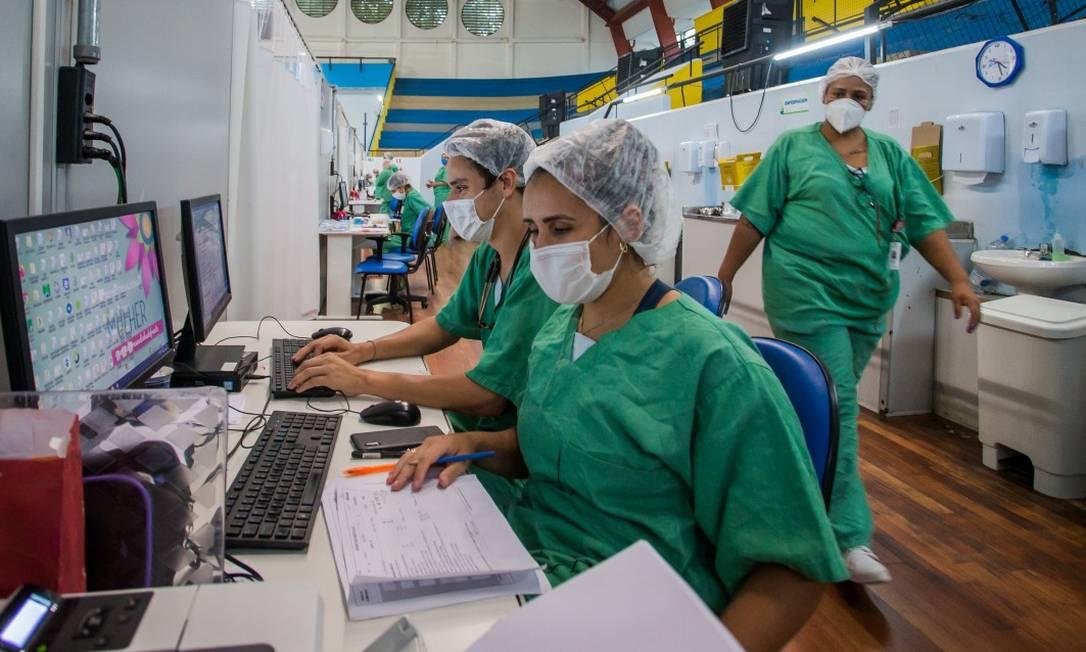 Prefeituras e estados relatam escassez de remédios para atender pacientes com Covid-19 Foto: Edilson Dantas / Agência O Globo