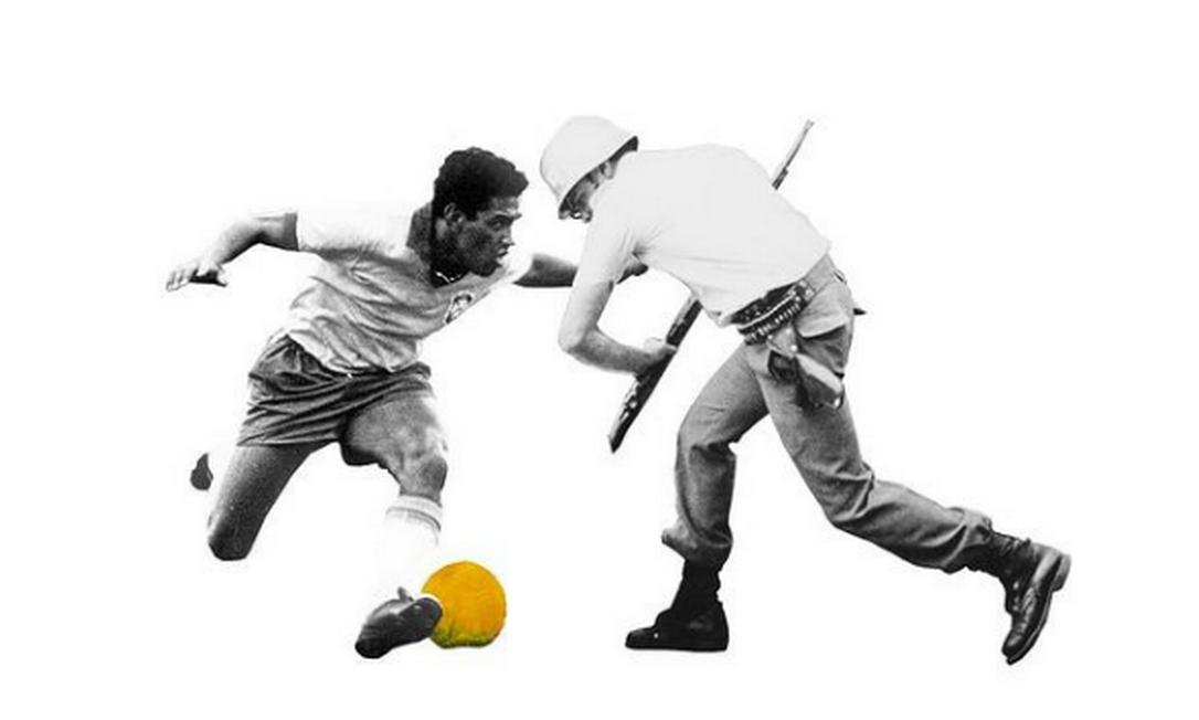 Perigo de Gol, por Mulambo Foto: Mulambo/Reprodução/Redes Sociais