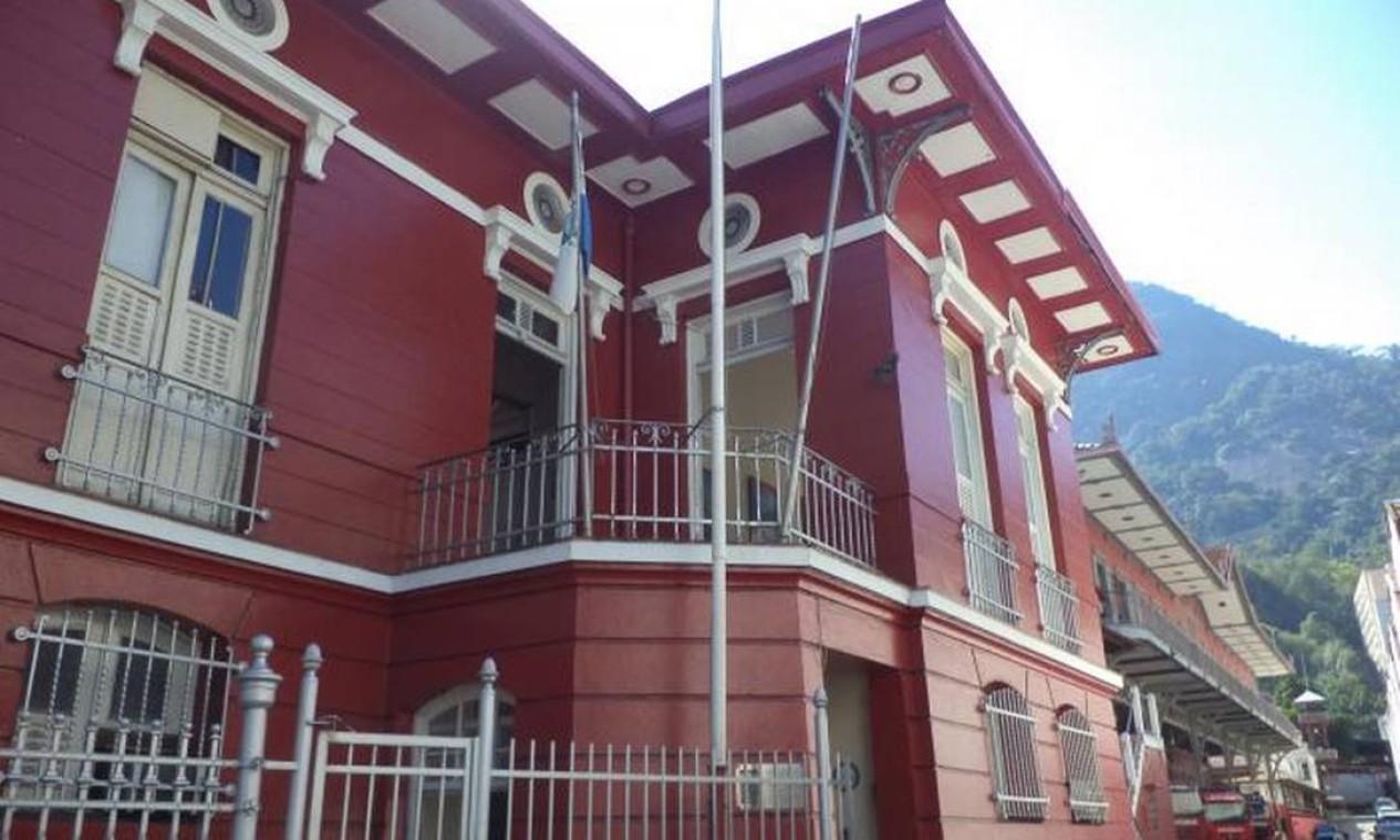 Primeiro Grupamento de Bombeiro Militar, no Humaitá. O prédio histórico é um dos pontos de vacinação da Zona Sul do Rio Foto: Denis Gahyva / Wikimapia