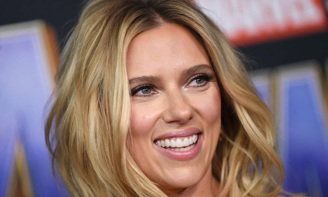 Atriz americana Scarlett Johansson, de 36 anos Foto: VALERIE MACON / AFP