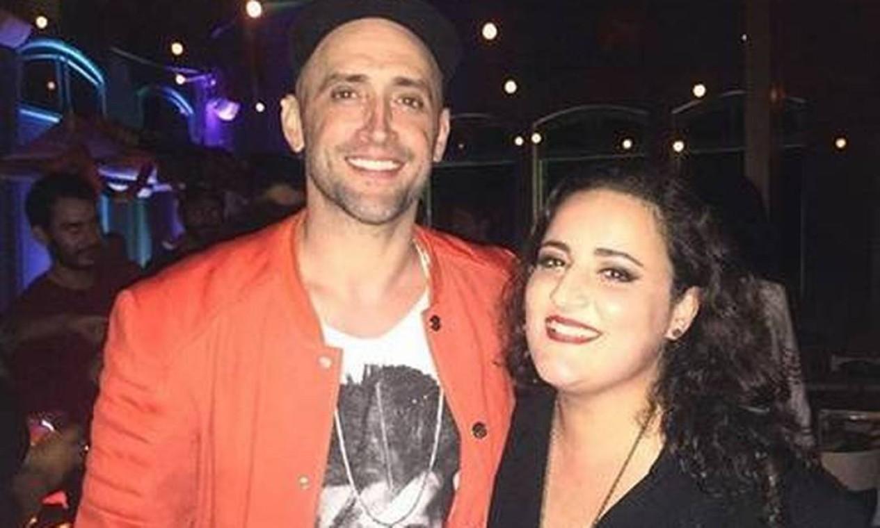 Ator e humorista, Paulo Gustavo, com a irmã Juliana Amaral Foto: Reprodução