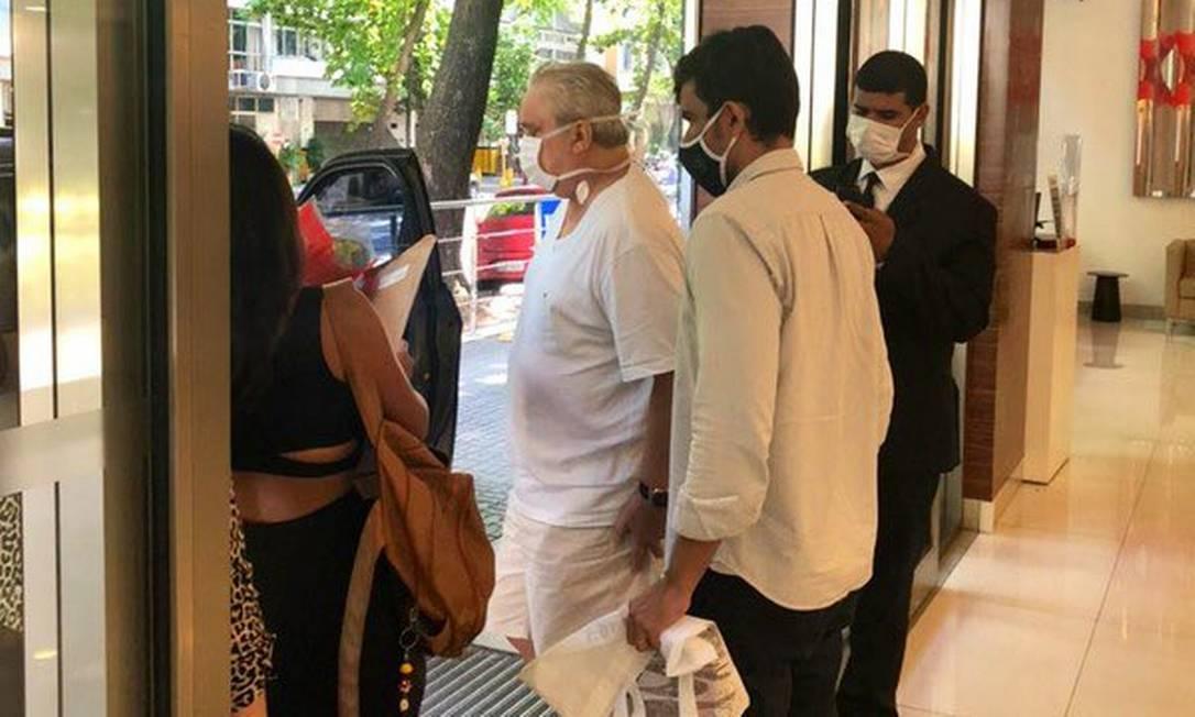 Branco tem alta de hospital após quase um mês lutando contra a Covid-19 -  Jornal O Globo