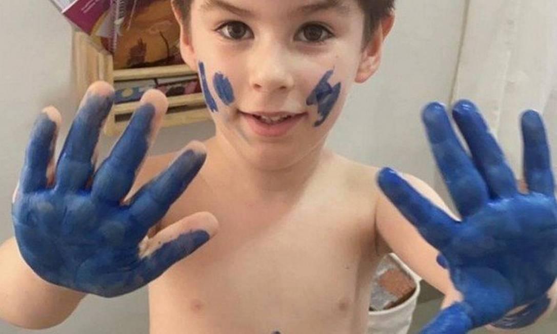 A polícia investiga a morte de Henry Borel Medeiros, aos 4 anos Foto: Reprodução