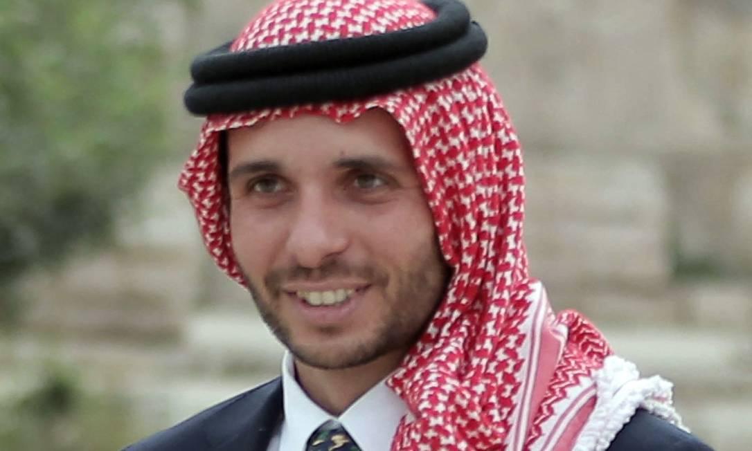 O ex-príncipe herdeiro da Jordânia, Hamzah Bin Hussein Foto: KHALIL MAZRAAWI / AFP