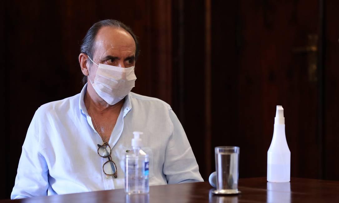 O prefeito de Belo Horizonte, Alexandre Kalil, disse que não cumpriria decisão de Nunes Marques e manteria igrejas fechadas Foto: Amira Hissa / Divulgação