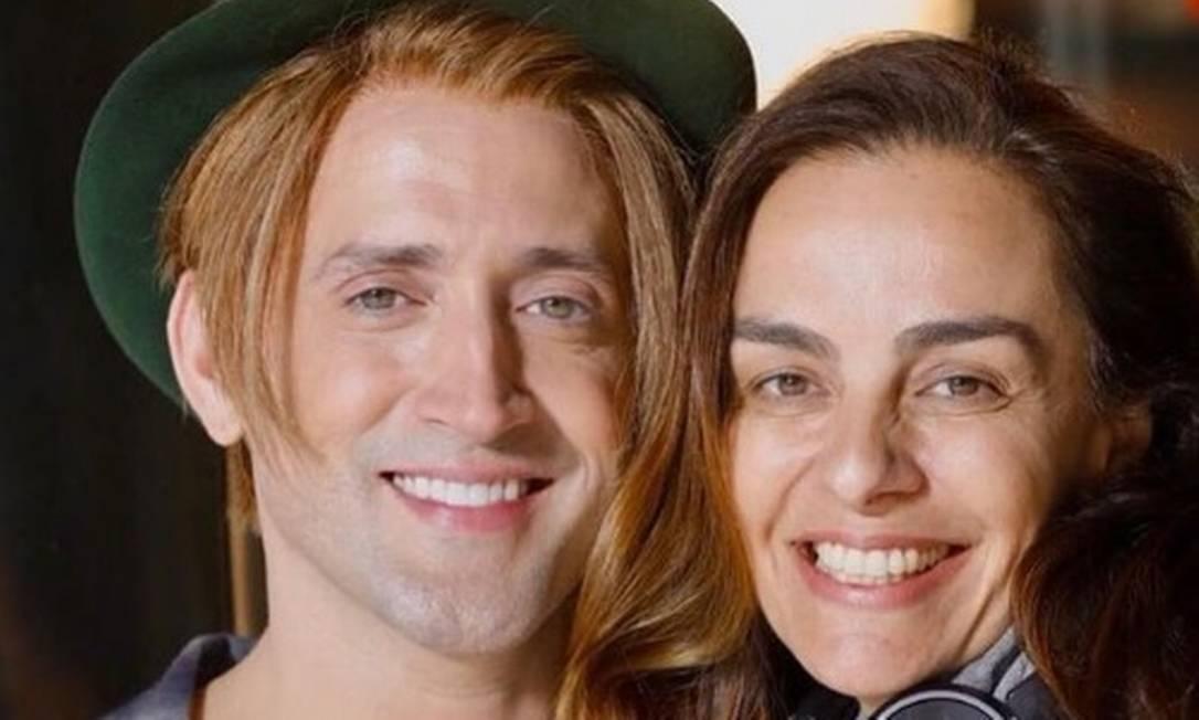 A cineasta Susana Garcia e o ator Paulo Gustavo Foto: Reprodução Instagram