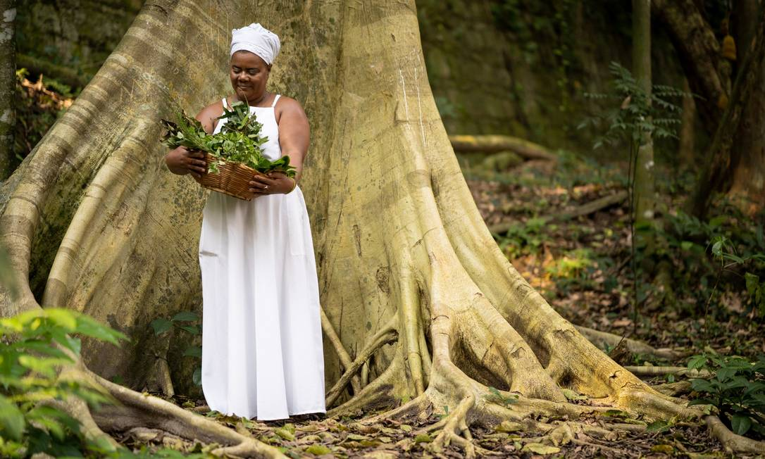 Mãe Celina de Xangô lançou o livro 'O poder das ervas' Foto: Divulgação / Márcio Monteiro