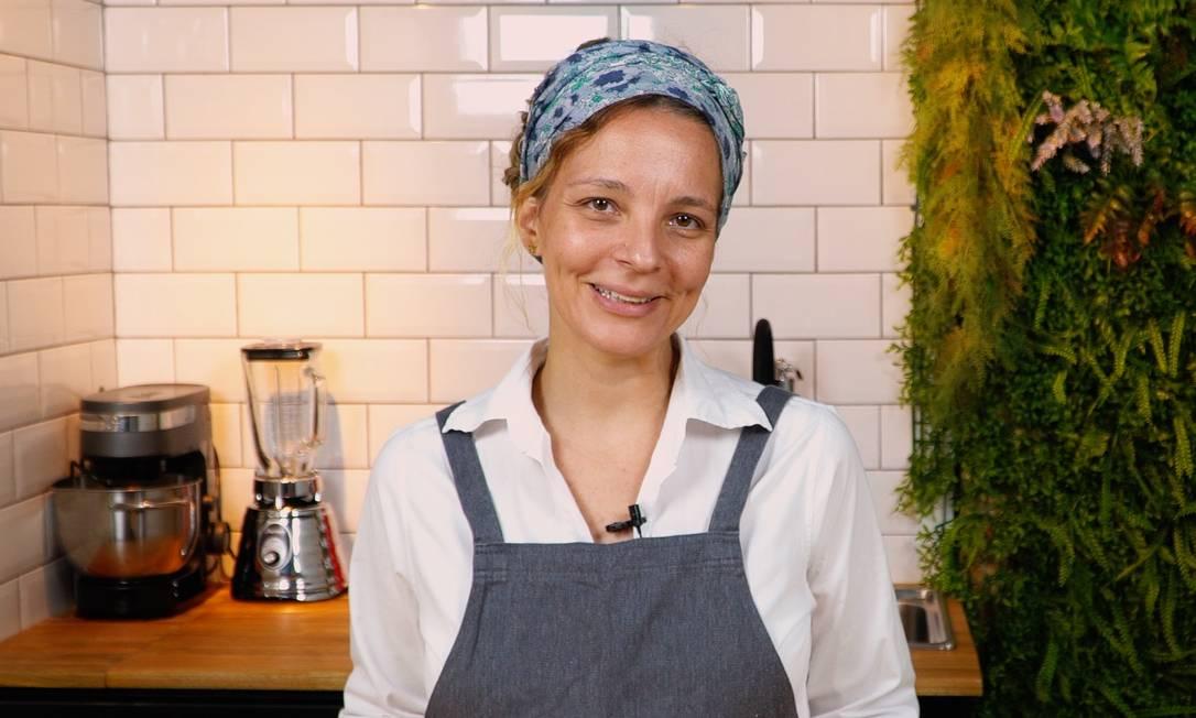 Chef Roberta Ciasca dá dicas práticas Foto: O Globo