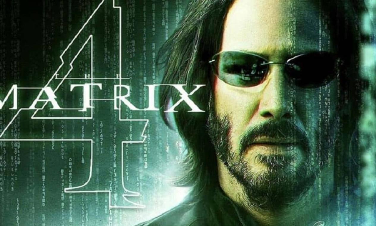 'Matrix 4': expectativa para a volta de Keanu Reeves como Neo, em dezembro Foto: Divulgação