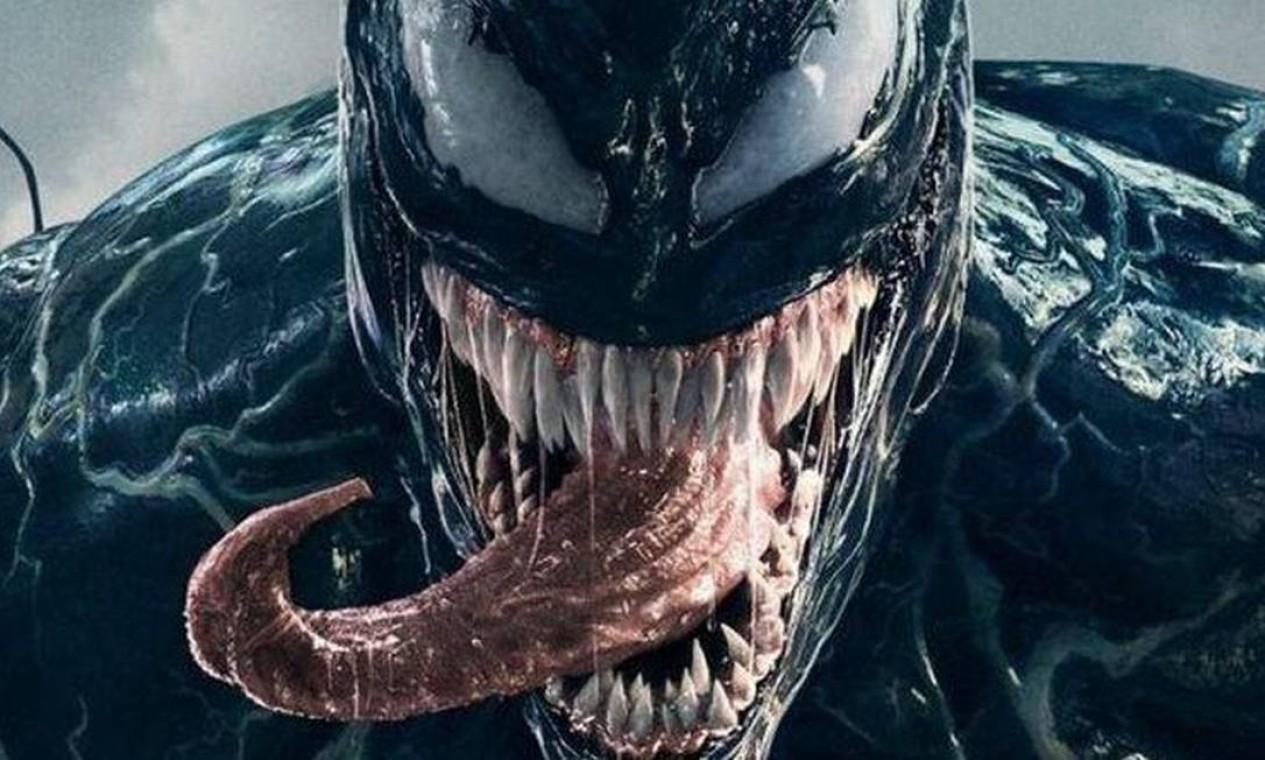 """""""Venom: tempo de carnificina"""" chega às telas em setembro Foto: Divulgação"""