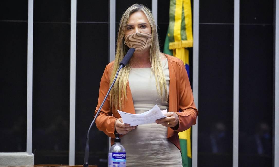 Celina Leão apresenta parecer de projeto que flexibiliza compra de vacinas por empresários Foto: pablo valadares / Câmara dos Deputados