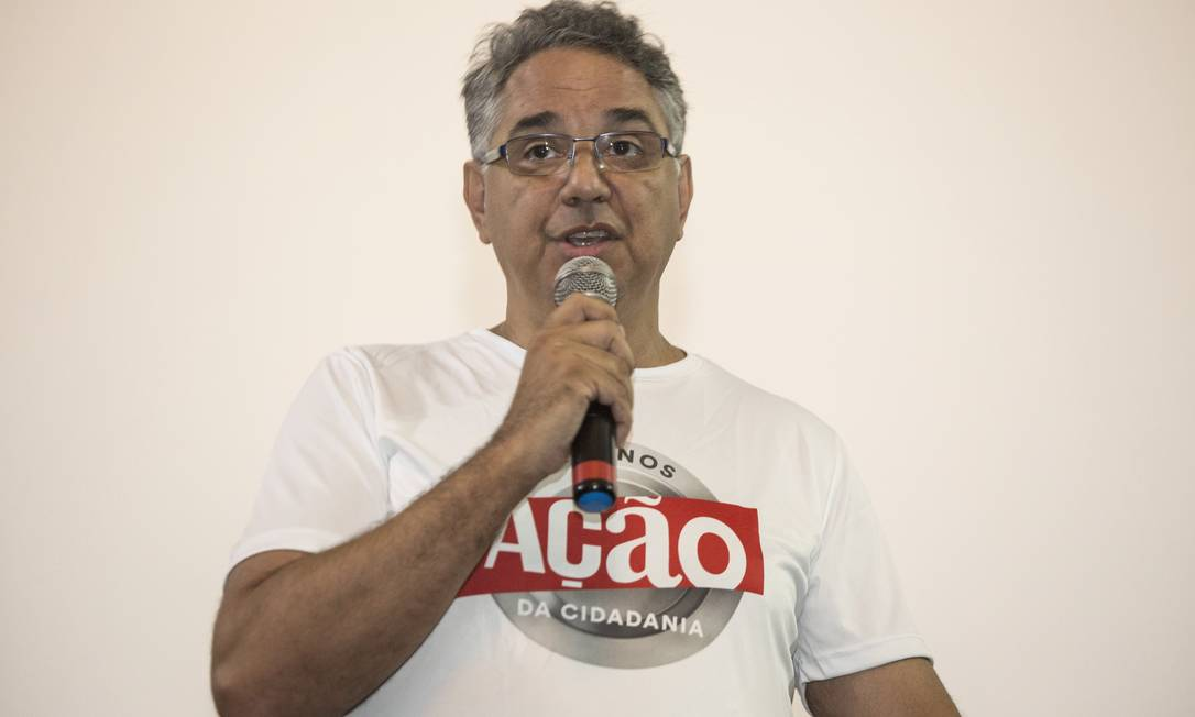 Daniel de Souza, da Ação da Cidadania Foto: Ana Branco / Agência O Globo