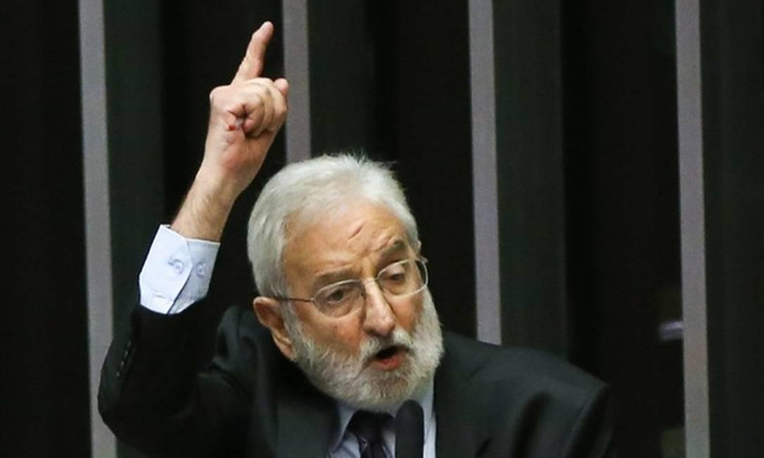 Deputado Ivan Valente (PSOL-SP) Foto: Marcelo Camargo/Agência Brasil)