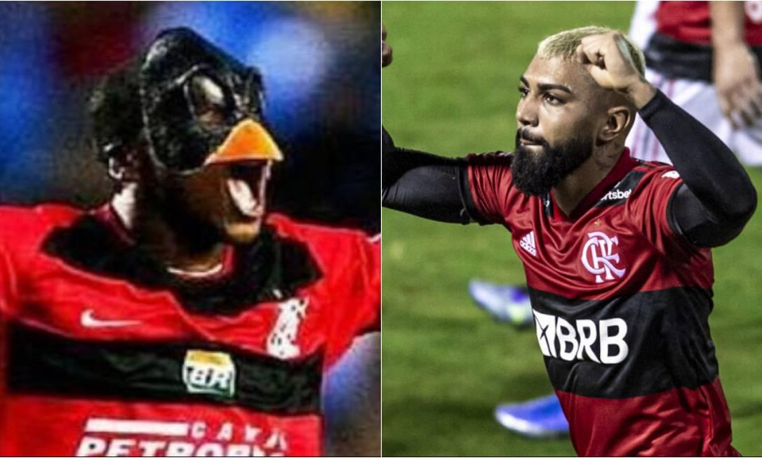 Compare os 73 gols de Gabigol e Renato Abreu pelo Flamengo Foto: Divulgação