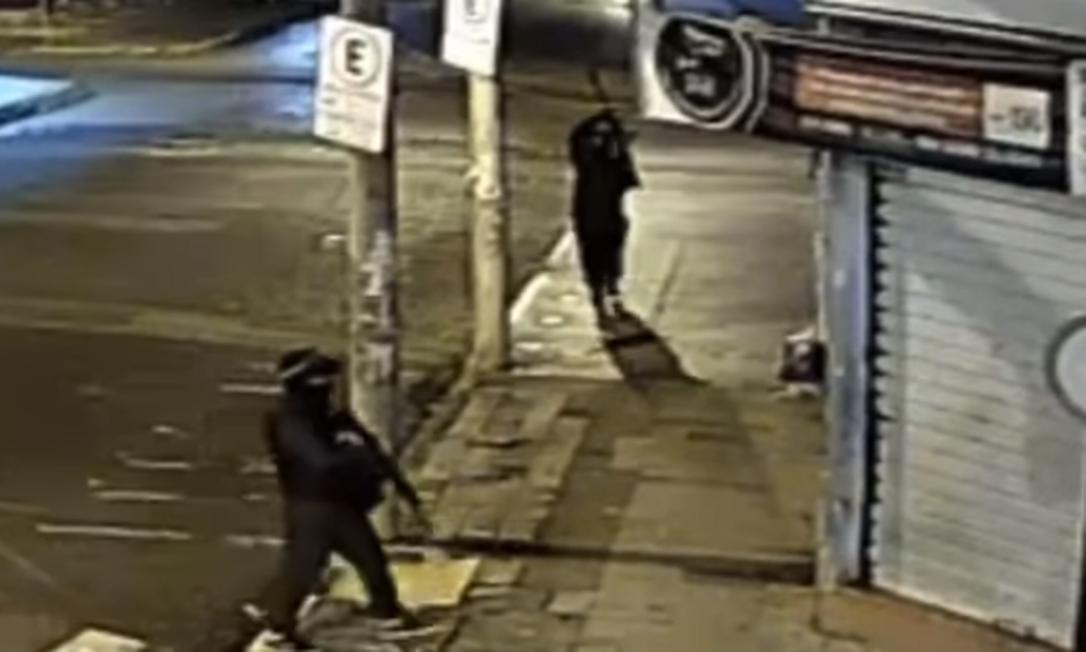 Ataque de quatrilha em Mococa (SP) Foto: Reprodução/Redes Sociais