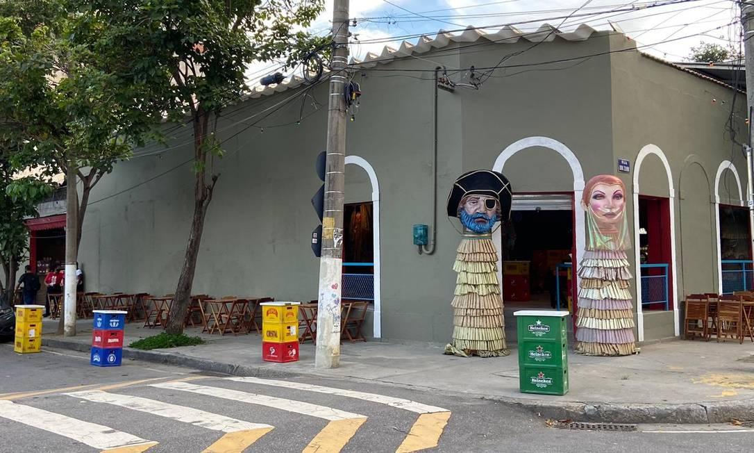 Nova fachada e localização do Baródromo, agora na Tijuca, na Zona Norte do Rio Foto: Divulgação
