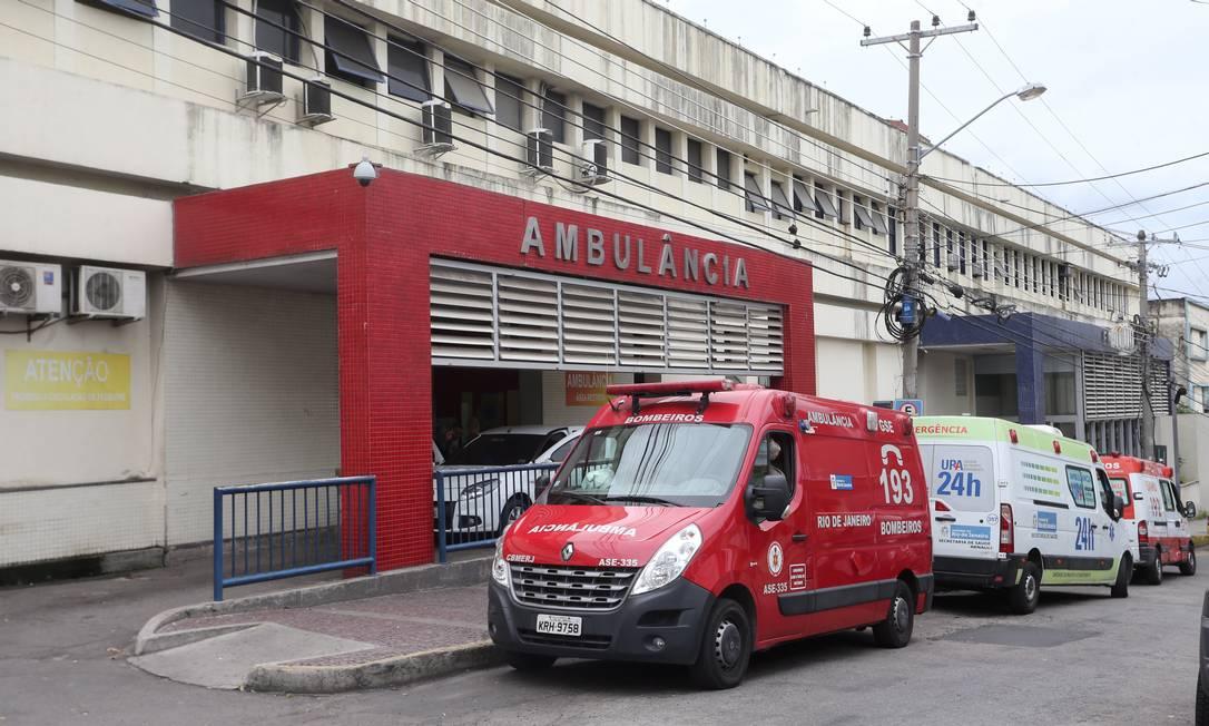 Foto arquivo - fachada do Hospital Getúlio Vargas na Penha - Foto Guilherme Pinto / Extra / Agência O Globo Foto: Guilherme Pinto / Agência O Globo