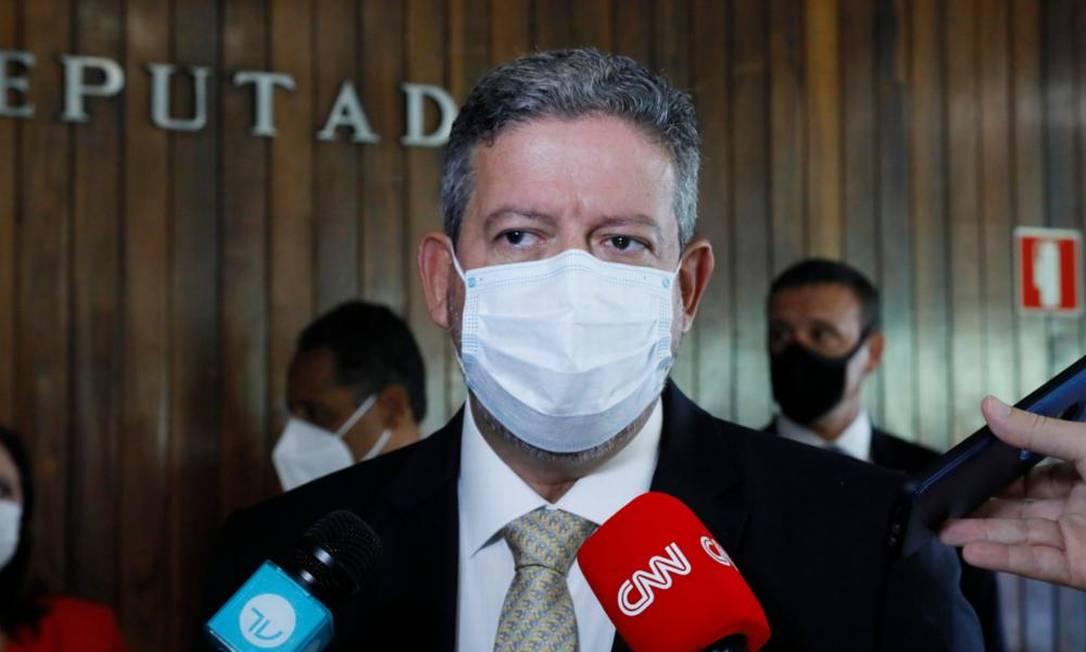 O presidente da Câmara, Arthur Lira, pede celeridade na sanção do Orçamento Foto: Luis Macedo/Câmara dos Deputados