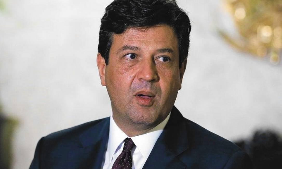 Ex-ministro da Saúde Luiz Henrique Mandetta. Foto: Pablo Jacob / Agência O Globo