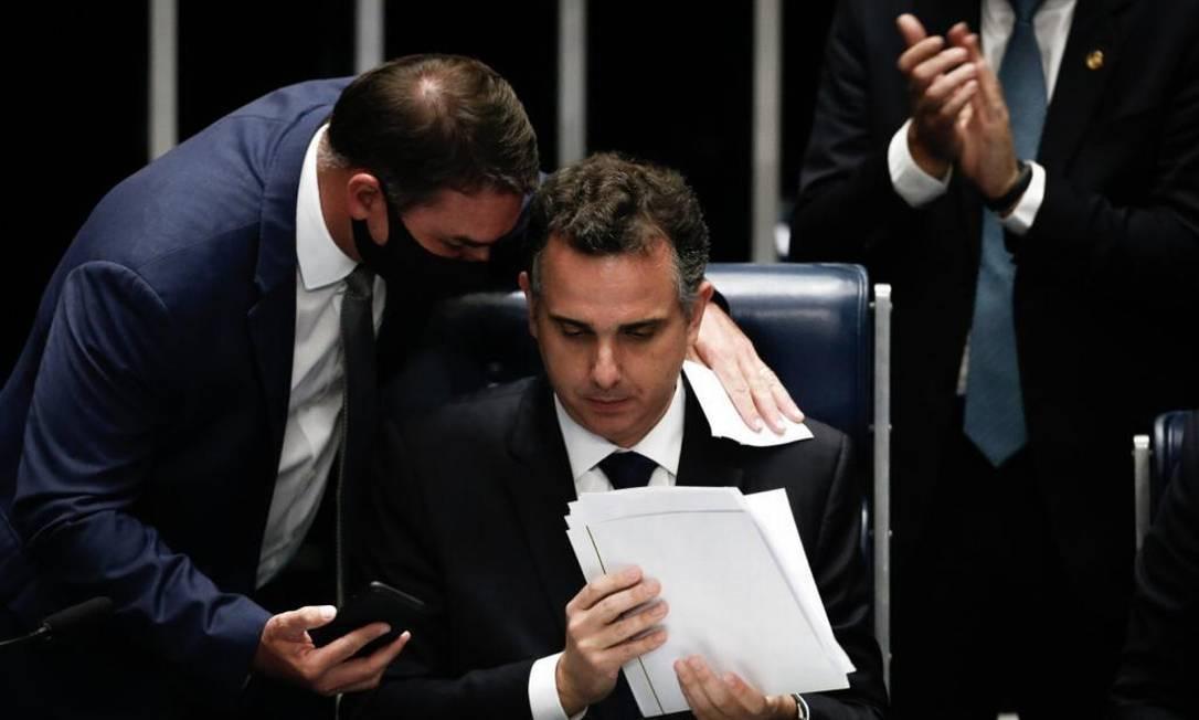 Rodrigo Pacheco, presidente do Senado Foto: Agência O Globo