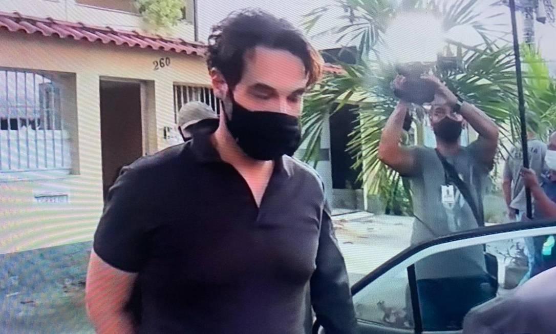 Dr. Jairinho foi preso por suspeita da morte do menino Henry Foto: TV Globo / Reprodução