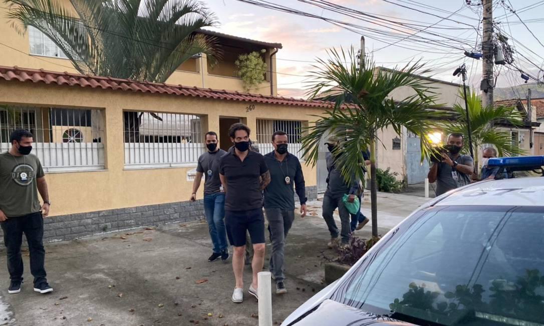 Dr. Jarinho, padrasto de Henry Borel, foi preso pela Polícia nesta quinta, 8 de abril Foto: Reprodução