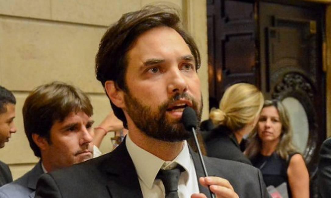 O médico e vereador Dr. Jairinho Foto: Renan Olaz / Agência O Globo