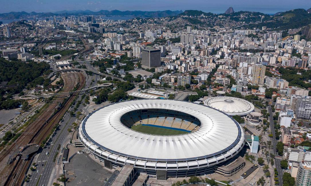 Maracanã não mudará de nome Foto: MAURO PIMENTEL / AFP