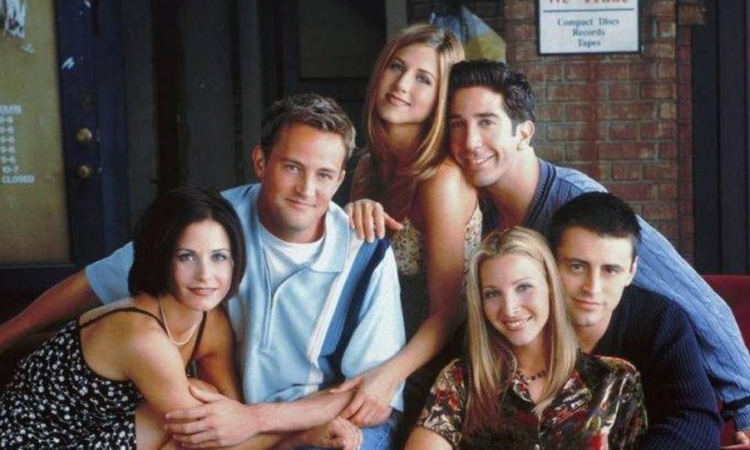 Elenco quando a série, que estreou em 1994, estava no auge Foto: Divulgação / O GLOBO