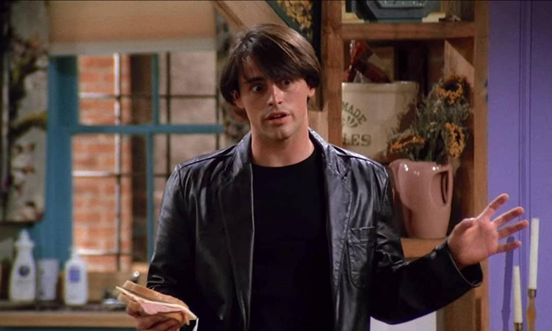 Matt LeBlanc, o Joey, no primeiro episódio da série Foto: Reprodução