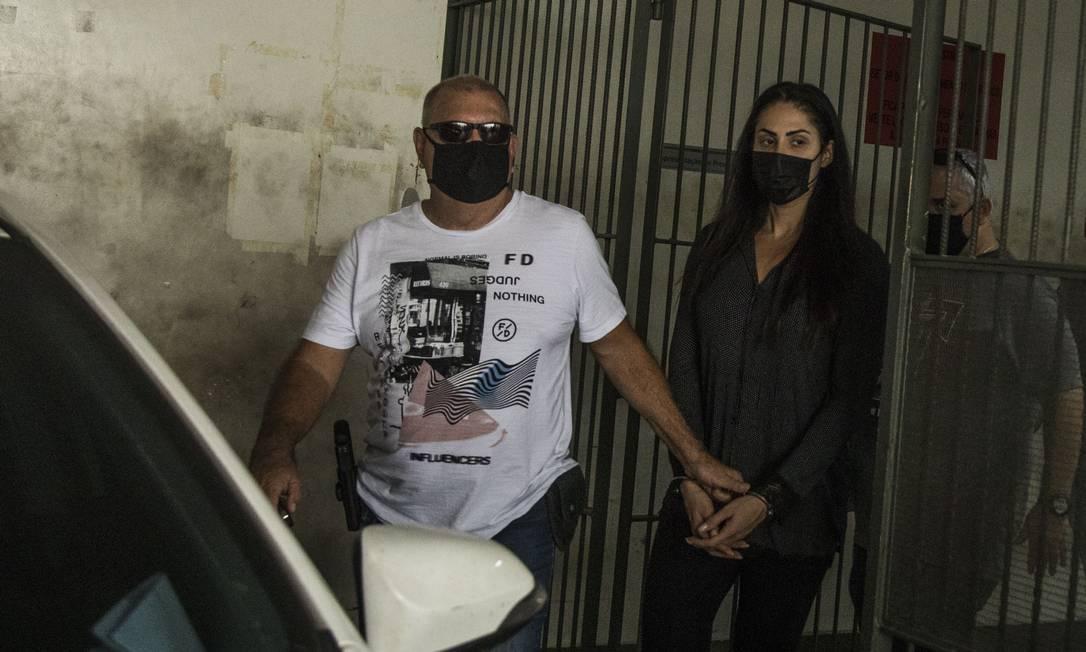 A mãe de Henry, Monique Medeiros, e o vereador Dr. Jairinho foram presos pela morte do menino Foto: Guito Moreto / Agência O Globo