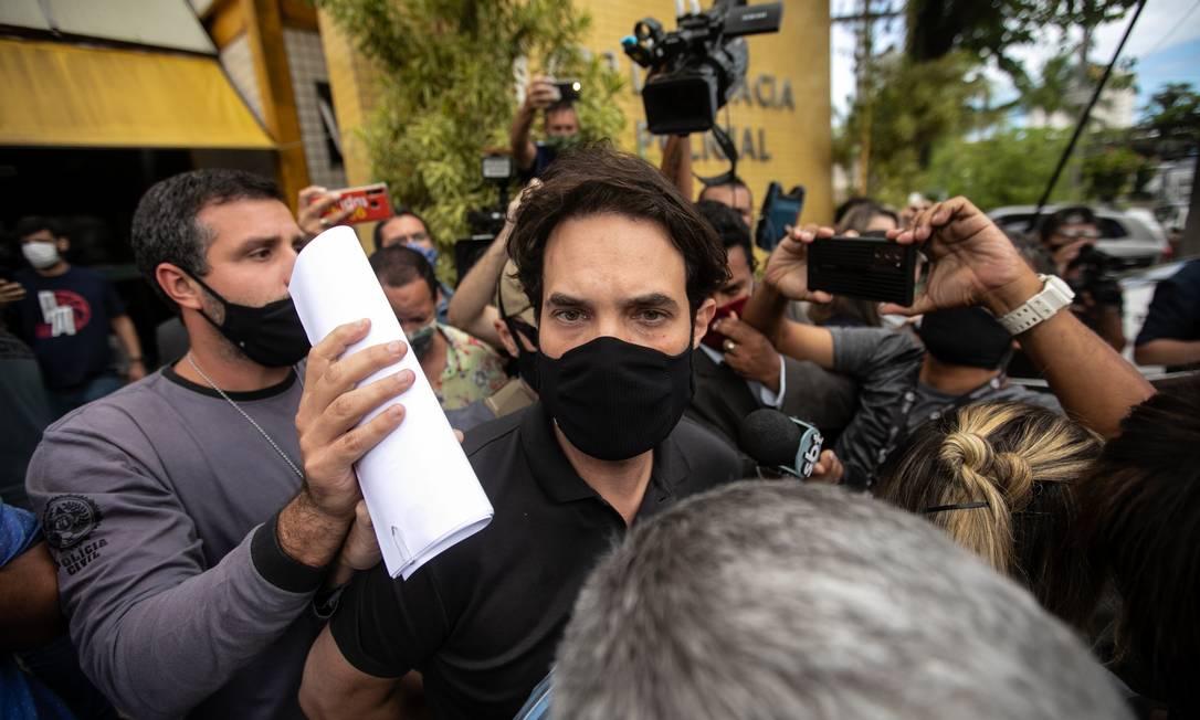 O vereador Dr. Jairinho foi preso pela morte do enteado, Henry Borel, de 4 anos Foto: Brenno Carvalho / Agência O Globo