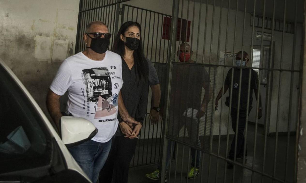 Monique Medeiros, mãe do menino Hnery cumpre prisão preventiva e será indiciada por tortura e homicídio duplamente qualificado Foto: Guito Moreto / Agência O Globo