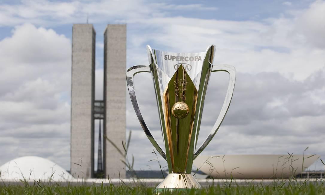 Supercopa do Brasil em Brasília Foto: Lucas FIgueiredo/CBF