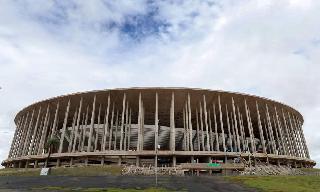 Flamengo e Palmeiras farão confronto da Supercopa do Brasil em Brasília Foto: SERGIO LIMA / AFP