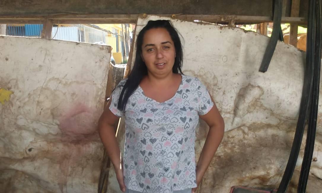 Gláucia Beatriz faz parte da população brasileira em insegurança alimentar Foto: Arquivo pessoal