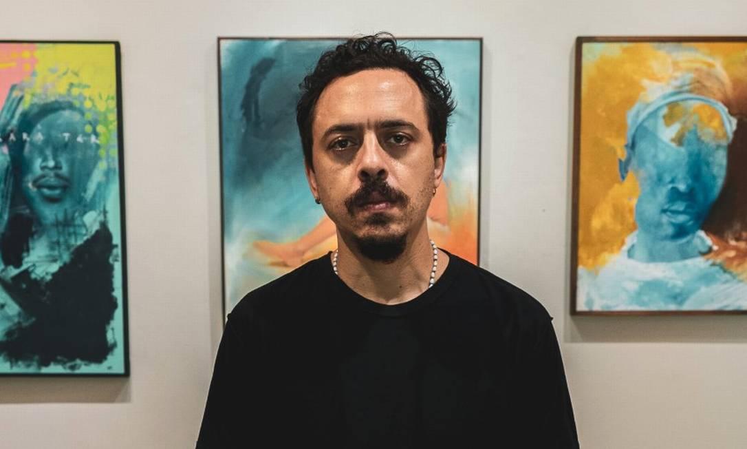 Carlos Bobi: a exposição fica na galeria Úmida Arte, no Jardim Botânico Foto: Divulgação / Ellos vídeo