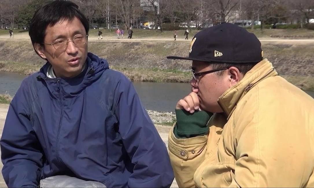 Cena de 'Eu e o líder da seita', dirigido por Atsushi Sakahara Foto: Reprodução