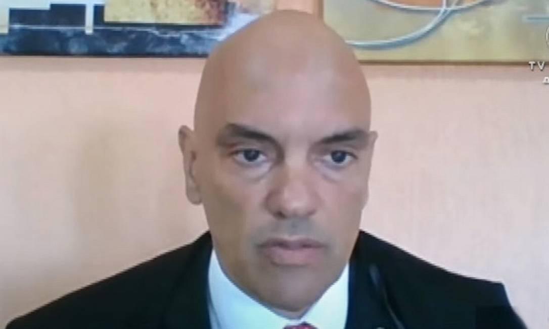 O ministro do STF Alexandre de Moraes 08/04/2021 Foto: Divulgação