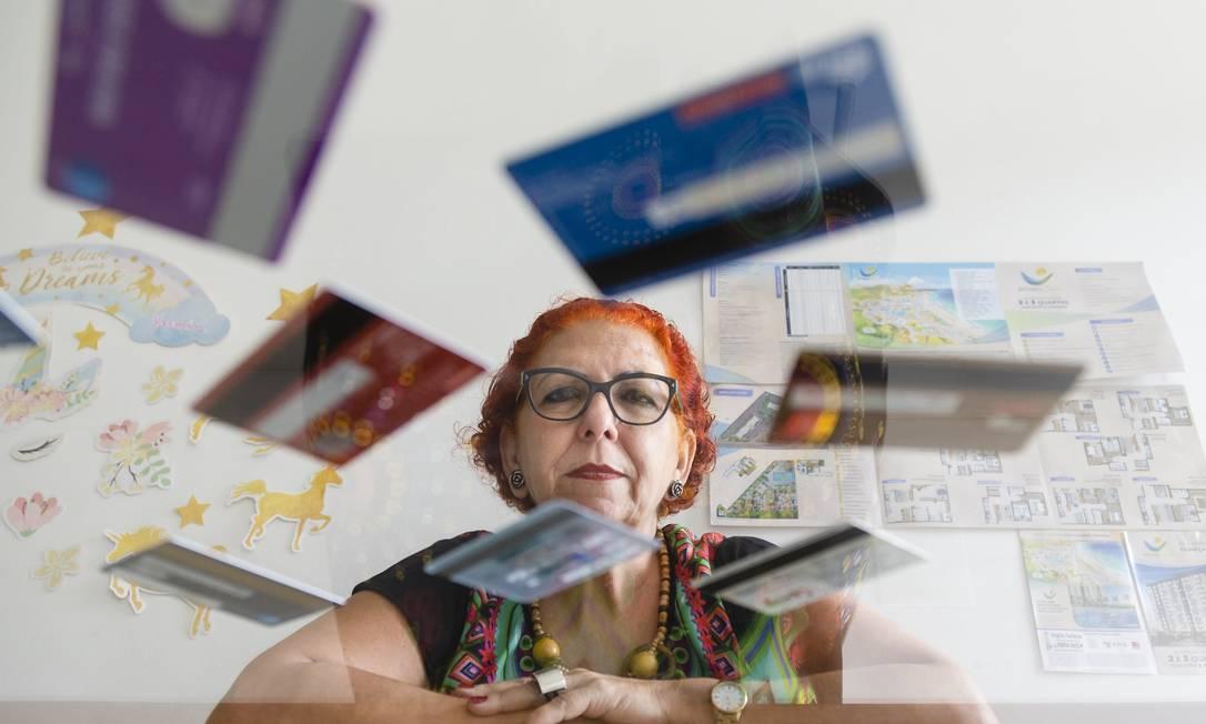 Angela Cardoso: 'Não dou meu CPF em supermercado' Foto: Leo Martins