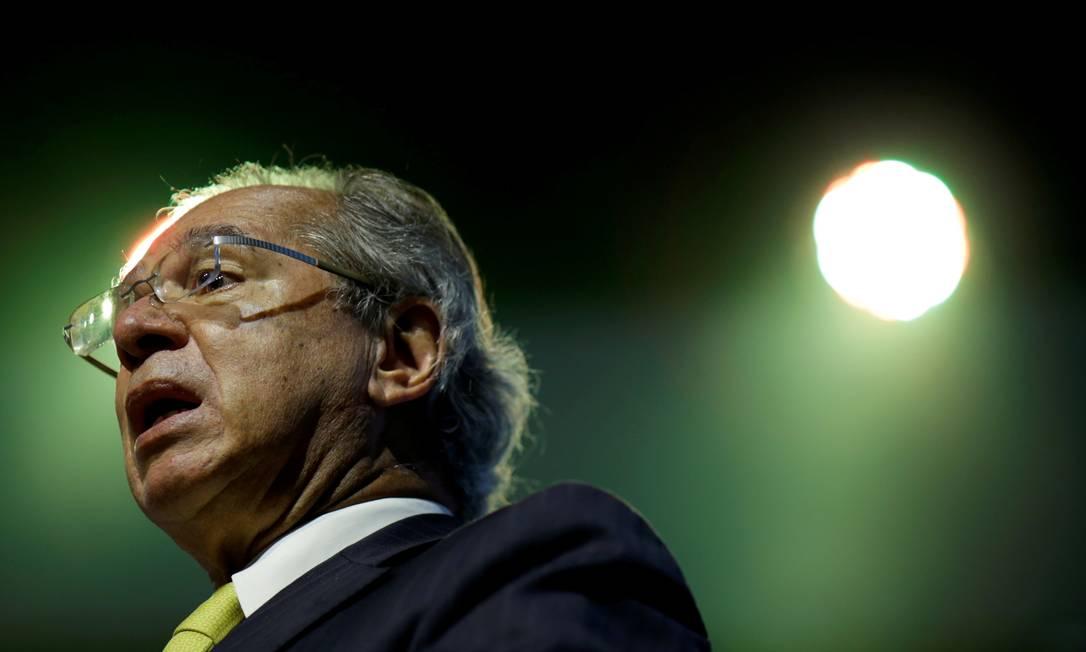 O ministro da Economia, Paulo Guedes Foto: UESLEI MARCELINO / REUTERS/8-12-2020